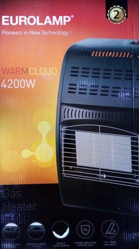 Σόμπα Υγραερίου 4.2KW με 4 Συστήματα Ασφαλείας EUROLAMP MODEL DA-503 (147-29676) WarmCloud 4200W Σόμπα Υγραερίου